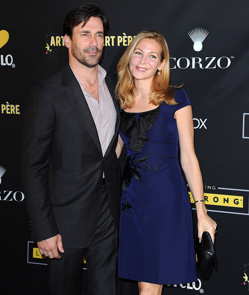 Reese Witherspoon and Jon Hamm at a LiveStrong Foundation Benefit