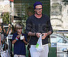 Slide Picture of David Beckham Getting Yogurt in LA