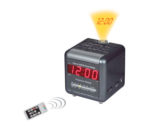 Hidden Projector Alarm Clock Nanny Camera ($380)