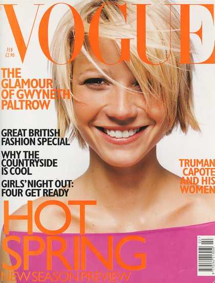 February 1998: UK Vogue Magazine