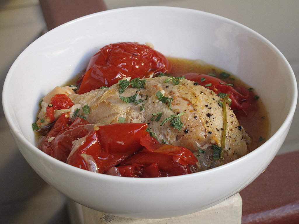 Photo Gallery: Braised Chicken With Summer Tomatoes