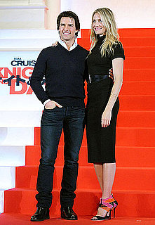 Pictures of Tom Cruise and Cameron Diaz Promoting Knight and Day in Japan 2010-09-28 09:15:00