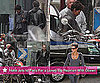 Pictures of Dark Tide Costars Halle Berry and Olivier Martinez Together in Paris