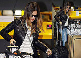 Pictures of Rachel Bilson Leaving Italy Following Milan Fashion Week