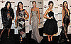 Pictures of Alessandra Ambrosio, Chanel Iman, Heidi Klum, and More at amfAR Milano