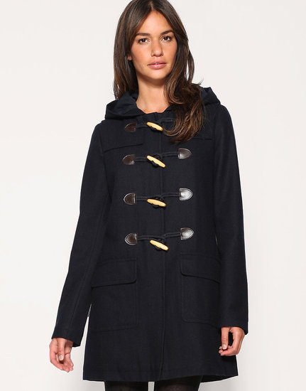 Asos Wool Hooded Duffle Coat ($127)