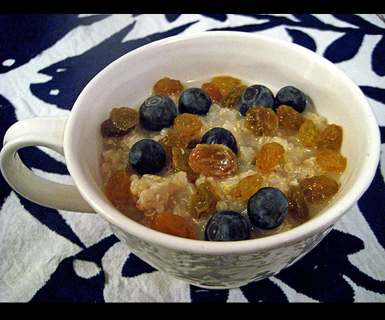What's Your Favorite Oatmeal Topping?