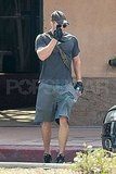 Kellan Lutz Has Plenty of Gloves and Muscles to Go Around