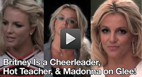 Video of Britney Spears on Glee