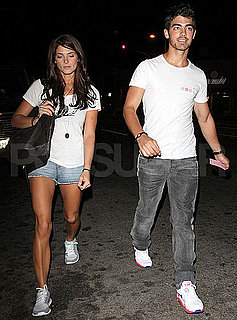 Pictures of Ashley Greene and Joe Jonas Out to Dinner Together in LA