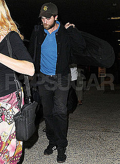 Pictures of Bearded Robert Pattinson Back in LA