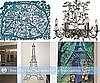 Paris Themed Baby Nurseries