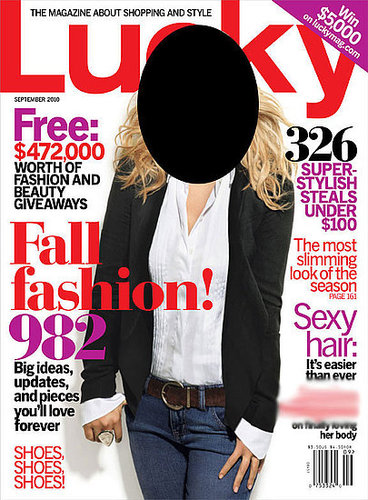 September 2010 Fashion Magazine Covers