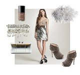 A Wedding Look That Will Dazzle: Glam Femininity in Luxe Neutrals