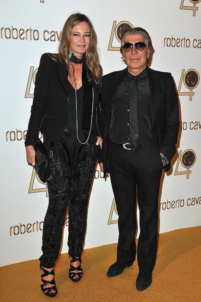 Eva Duringer and Roberto Cavalli