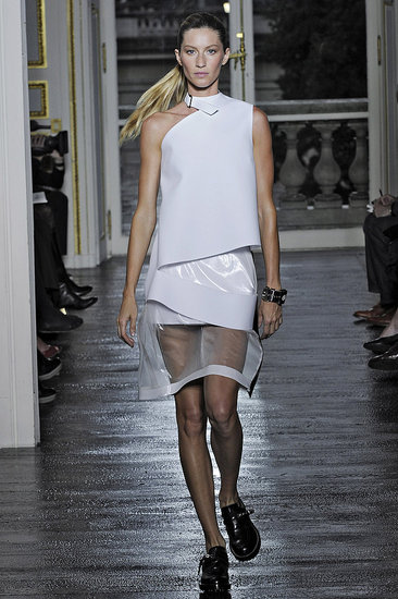 Nicolas Ghesquiere, Sick of Clone Models, Cast Gisele, Carolyn Murphy, and Pregnant Miranda Kerr for Balenciaga Spring 2011