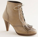 J.Crew Kilted Platform Ankle Boot ($375)