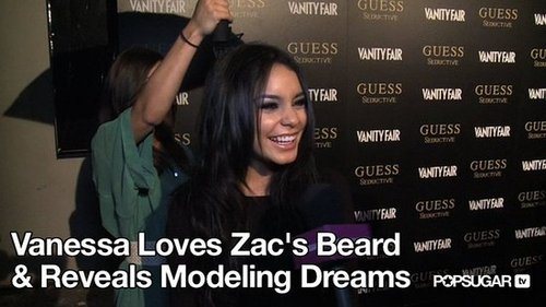Video of Vanessa Hudgens on the Red Carpet For Guess