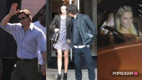 Video of Brad Pitt Filming Moneyball, Miranda Kerr and Orlando Bloom in Paris, and Paris Hilton and Her Boyfriend in Alleged Hit 2010-09-30 14:11:38