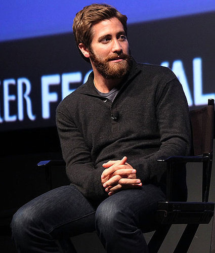 Jake Gyllenhaal Talking at the New Yorker Festival