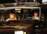 Brad Pitt Takes a Ride on Set With Robin Wright