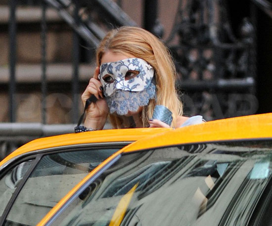 Guess Who Hailed a Taxi Wearing a Mask?