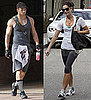 Pictures of Kellan Lutz and Ashley Greene at the Gym in LA
