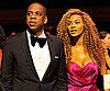 Slide Picture of Jay-Z and Beyonce Knowles at Black Ball in New York