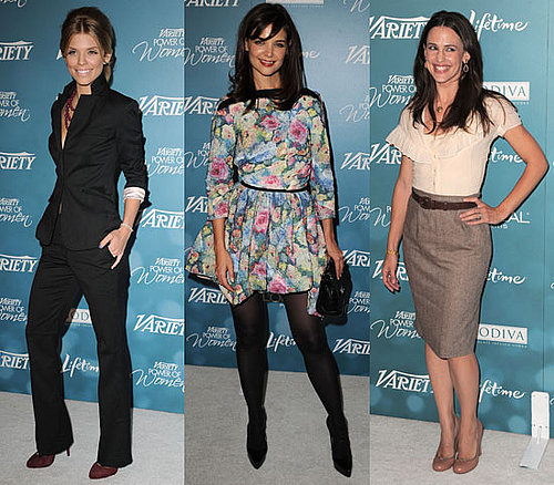 "Photos du déjeuner de la ""Variety Power Of Women"" avec Katie Holmes, Jennifer Garner and AnnaLynne McCord"
