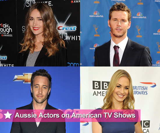Australian Actors on American TV Shows