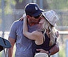 Slide Picture of Eddie Cibrian and LeAnn Rimes Kissing