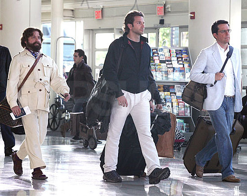 Pictures of The Hangover 2 Filming