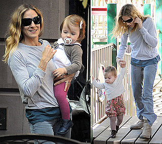 Pictures of Sarah Jessica Parker and Her Twin Daughters
