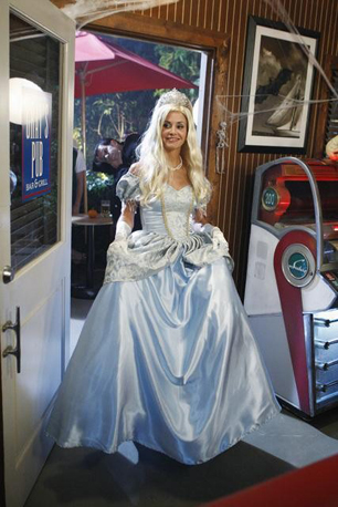 Jules as Cinderella