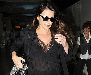 Slide Picture of Penelope Cruz at Heathrow