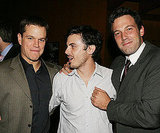 Ben Affleck and Casey Affleck paled around with Matt Damon during The Brothers Grimm LA afterparty in August 2005.