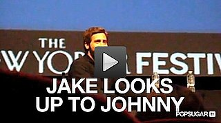 Video of Jake Gyllenhaal With a Beard at the New Yorker Festival