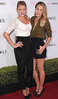 Pictures of Lauren Conrad and Lo Bosworth at Teen Vogue Young Hollywood Party