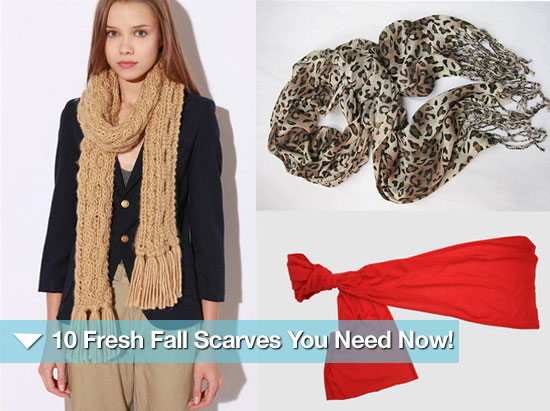 10 Fresh Fall Scarves You Need Now — $50 and Under!