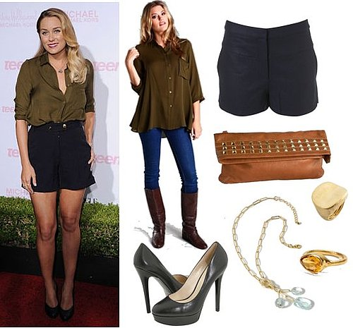Pictures of Lauren Conrad in Myne at Teen Vogue Young Hollywood Party