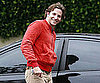 Slide Picture of Bradley Cooper Leaving Friend's House in LA