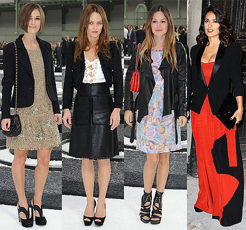 Keira Knightley, Pregnant Lily Allen, Rachel Bilson and More at 2011 Spring Paris Fashion Week