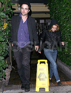 Pictures of Robert Pattinson and Kristen Stewart Together in LA After Dinner