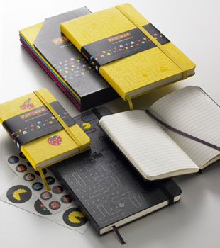 Pac-Man Moleskine Notebooks 2010-10-05 15:46:08