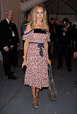 One of my favorite SJP looks at DvF: romantic and sweet.