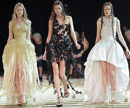 Spring 2011 Paris Fashion Week: Alexander McQueen