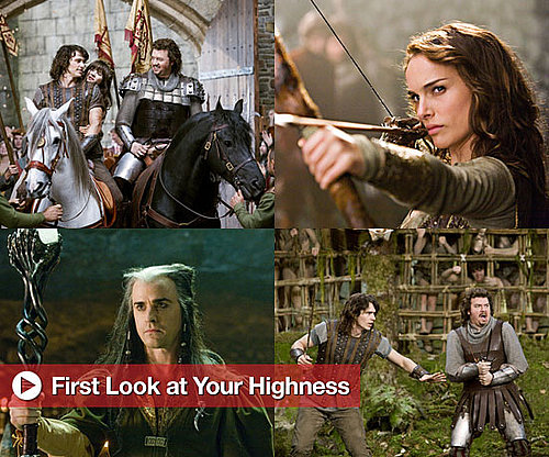 Pictures of James Franco, Zooey Deschanel, Danny McBride, Natalie Portman in Your Highness