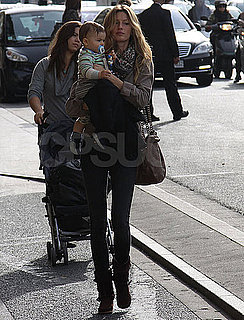 Pictures of Gisele Bundchen Out in Paris With Son Benjamin