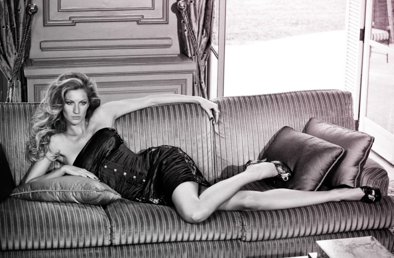 Gisele Goes Sporty and Sultry in Vogue Brasil October '10