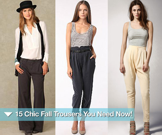 15 Chic Fall Trousers You Need Now!
